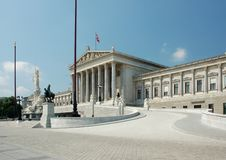 Free Austrian Parliament Building Stock Image - 2517621