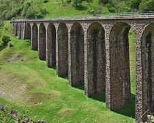 Free Smardale Railway Viaduct Royalty Free Stock Image - 2517936