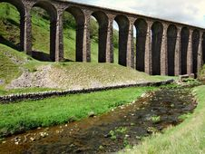 Free Smardale Railway Viaduct Stock Photo - 2518010