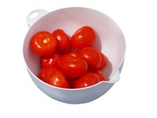 Free Tomatoes In White Bowl Royalty Free Stock Images - 2518099