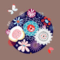 Free Floral Background Royalty Free Stock Photos - 25107488