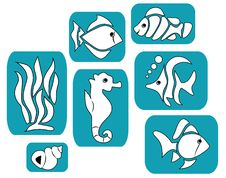Free Fish Cartoon Royalty Free Stock Images - 25103619