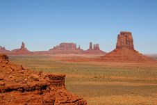 Free Monument Valley Royalty Free Stock Images - 25104649