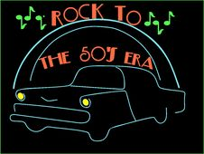 Free Rockin To The 50 S.... Royalty Free Stock Photo - 25106015