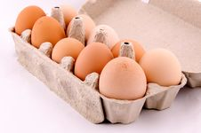 Free Egg Box Royalty Free Stock Photos - 25106998