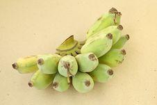 Free Cultivated Banana Royalty Free Stock Photos - 25107968