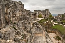 Ruined Castle Stock Image