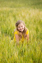 Free Girl In Meadow Stock Photos - 25110513