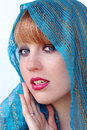 Free The Blue Veil Stock Images - 25111904