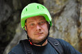 Free Climber Portrait With Helmet Royalty Free Stock Photo - 25119055