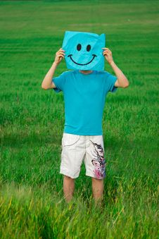 Free Man And Smiley Stock Images - 25110524