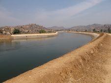 Free Canal Near Hampi Royalty Free Stock Photos - 25110698