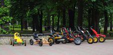 Free Four Wheeled Bicycles Royalty Free Stock Photo - 25110875