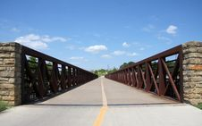 Free Bridge Royalty Free Stock Image - 25112136