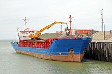 Free Aggregates Cargo Ship Stock Photography - 25112642