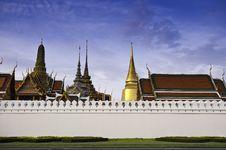 Free Bangkok Grand Palace Royalty Free Stock Photos - 25113988