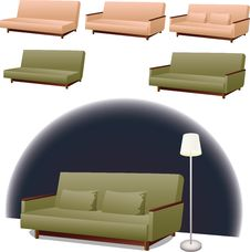 Free Sofa Interior Design Stock Photos - 25114213