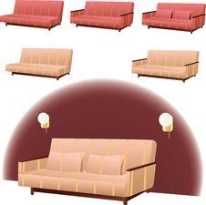 Free Sofa Interior Design Royalty Free Stock Photos - 25114228