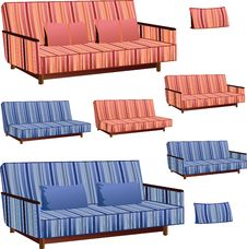 Free Sofa Interior Design Stock Photos - 25114233