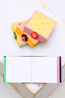 Free Handmade Notebook Stock Photos - 25115233
