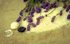 Free Lavender - Spa Treatment Royalty Free Stock Photos - 25116078