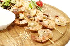 Free Shrimp Royalty Free Stock Photos - 25116968