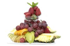 Free A Plate Of Ripe Fruit Royalty Free Stock Photos - 25117068