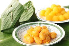 Free Traditional Thai Dessert Stock Photo - 25117970