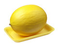 Free Sweet Melon On A Plastic Food Tray Stock Photography - 25127982