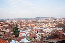 Free Panoramic View. Tbilisi. Georgia. Stock Image - 25123701