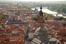 Free Heidelberg S View From Above, Germany Stock Photography - 25124492