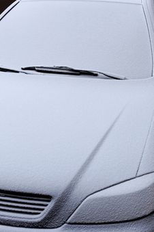 Free Frosted Motorcar Stock Photo - 25124580
