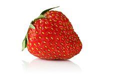 Free Strawberry. Royalty Free Stock Photos - 25128938