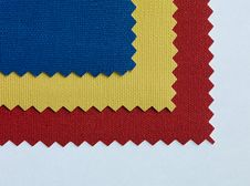 Tricolor Fabric Texture Textile Stock Photography