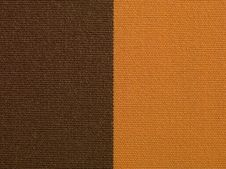 Free Brown And Orange Fabric Texture Macro Stock Image - 25132441