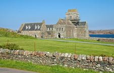 Free Iona Abbey Royalty Free Stock Image - 25136516