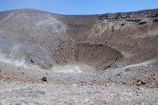 Free Crater Of The Volcano. Stock Photos - 25136553