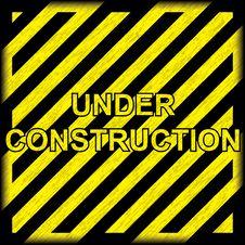 Free Under Construction Grunge Background Stock Images - 25141834