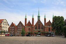 Free Hospital Of The Holy Spirit Royalty Free Stock Photo - 25143165