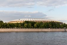 Free The Stadium Luzhniki Royalty Free Stock Photography - 25143567