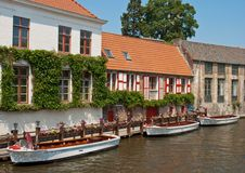 Free Riverside Of Brugge Stock Images - 25144374