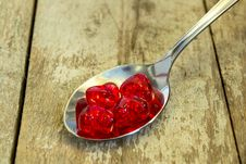 Free Spoon Full Of Love... Royalty Free Stock Image - 25145256