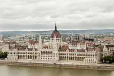 Parliament Of Hungary In Budapest Stock Images