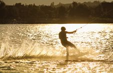 Free Wake-boarding Stock Photo - 25150140