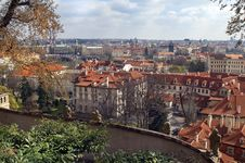 View Of The Roof Of The Old Prague Royalty Free Stock Photo