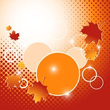 Free Autumn Vector Backdrop. Eps10 Stock Photography - 25152252