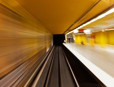 Free Underground &x28;blurred&x29; Stock Photo - 25156160