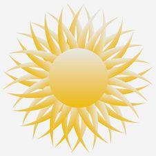 Free Sun Royalty Free Stock Photo - 25156275