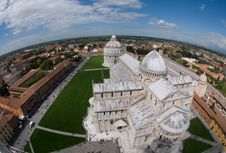 Free View From The Top Of The Leaning Tower Stock Image - 25158391
