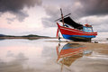 Free Thai Fishing Boat Royalty Free Stock Photos - 25165988